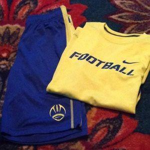 Nike Dri-Fit Football shirt and shorts